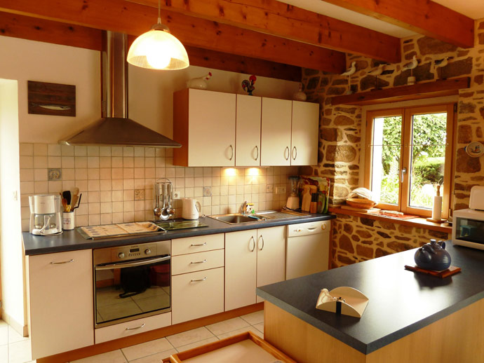 Ferienhaus Bretagne mit Hund in Coatréven für 6 Personen ...