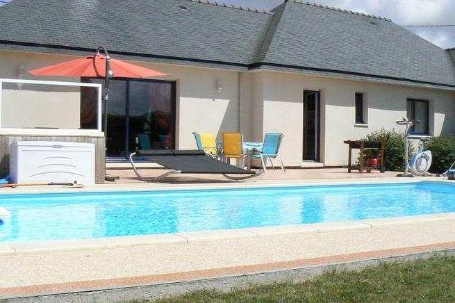 Superior Ferienhaus Bretagne Mit Pool In Cléder Für 6 Personen