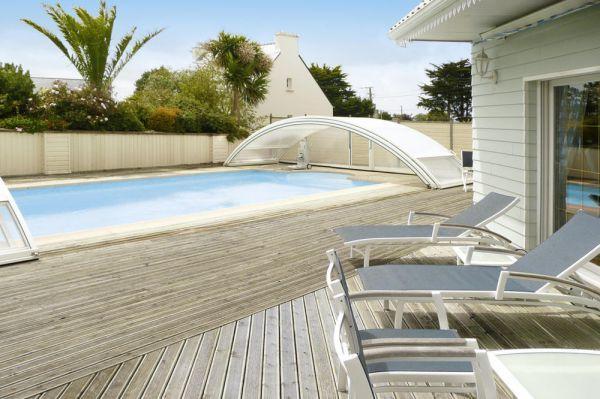 Ferienhaus Bretagne Mit Pool In Guissény Für 6 Personen