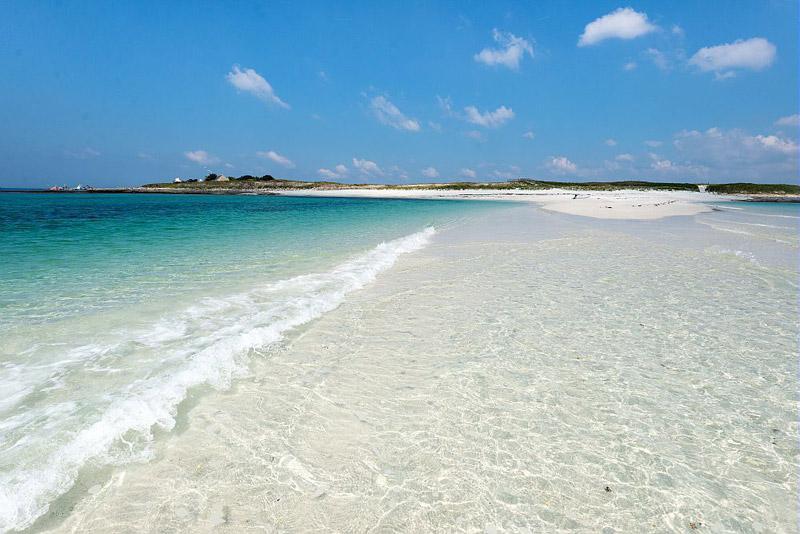 Îles de Glénan – paradiesischer Insel-Archipel vor der bretonischen ...